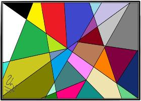Picasso Glass Tessellation